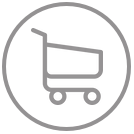 Metals Purchased Shopping Cart Icon